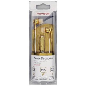 THOMSON Słuchawki douszne (EAR3005GD) złote (4)