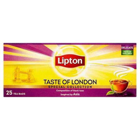LIPTON Taste of London Herbata czarna aromatyzowana (25 tb.) (2)