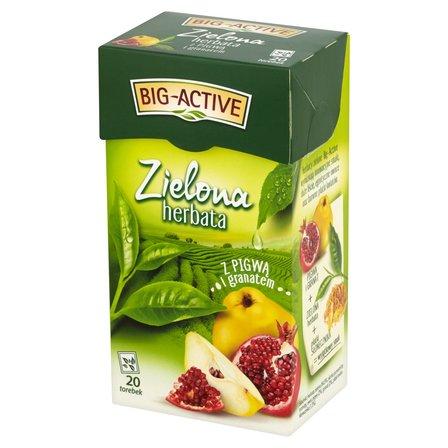 BIG-ACTIVE Zielona herbata z pigwą i granatem (20 tb.) (1)