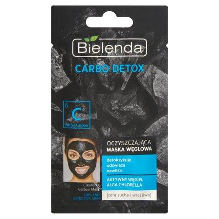 BIELENDA Carbo detox Oczyszczająca maska węglowa do cery suchej i wrażliwej (1)