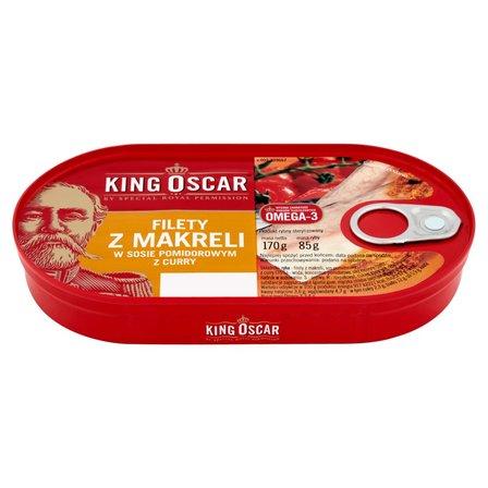 KING OSCAR Filety z makreli w sosie pomidorowym z curry (1)