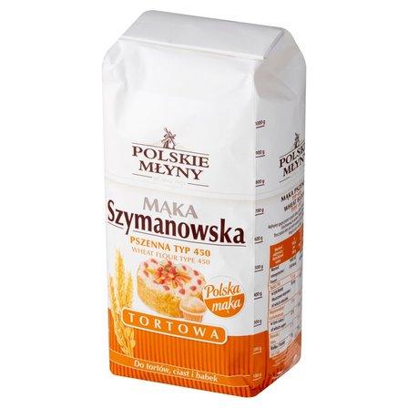 POLSKIE MŁYNY Mąka Szymanowska pszenna tortowa typ 450 (1)