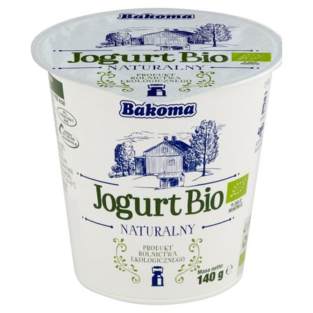 BAKOMA Jogurt Bio naturalny (1)