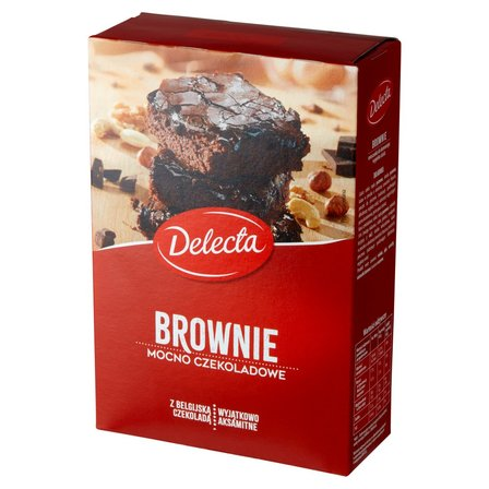 DELECTA Brownie mocno czekoladowe mieszanka do wypieku ciasta (1)
