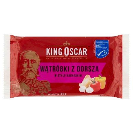 KING OSCAR Wątróbki z dorsza po kaukasku (1)