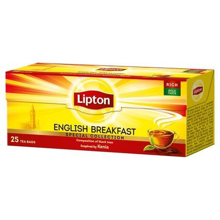LIPTON English Breakfast Herbata czarna (25 tor.) (1)
