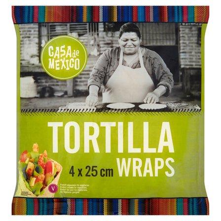 CASA DE MEXICO Tortilla wrap 25 cm (4 sztuki) (1)