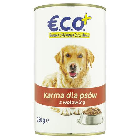 ECO+ Karma dla psów z wołowiną (1)