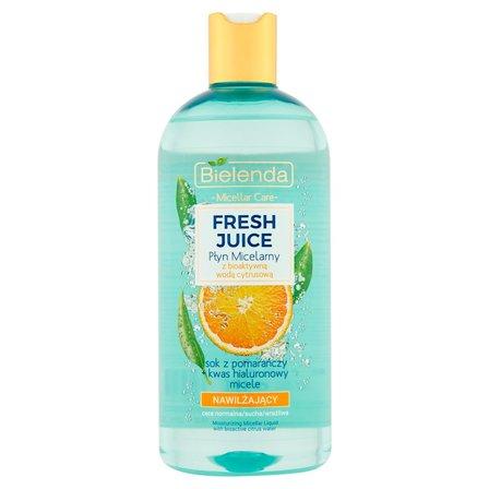 BIELENDA Fresh Juice Płyn micelarny z bioaktywną wodą cytrusową nawilżający (1)