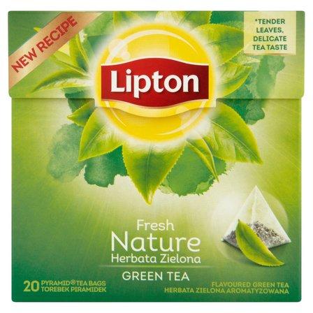 LIPTON Nature Herbata zielona (20 tb.) (2)