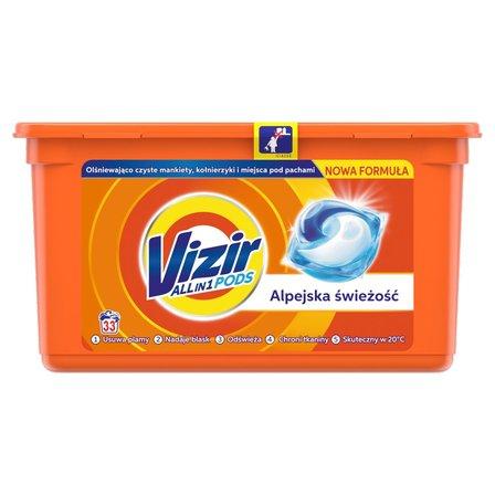 Vizir ALL in 1 Alpine Kapsułki do prania, 33prań (1)