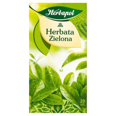 HERBAPOL Herbata zielona (20 tb.) (2)