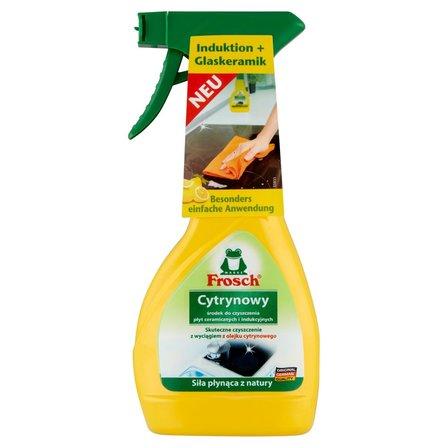 FROSCH Środek do czyszczenia płyt ceramicznych i indukcyjnych cytrynowy (1)