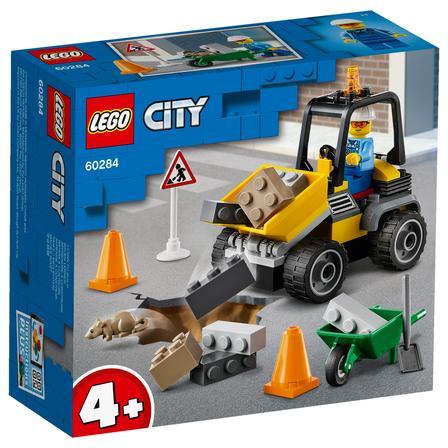LEGO City Pojazd do robót drogowych 60284 (4+) (1)