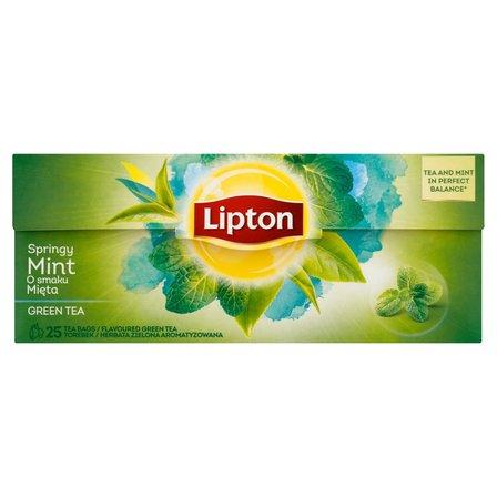 LIPTON Herbata zielona miętowa (25 tb.) (2)