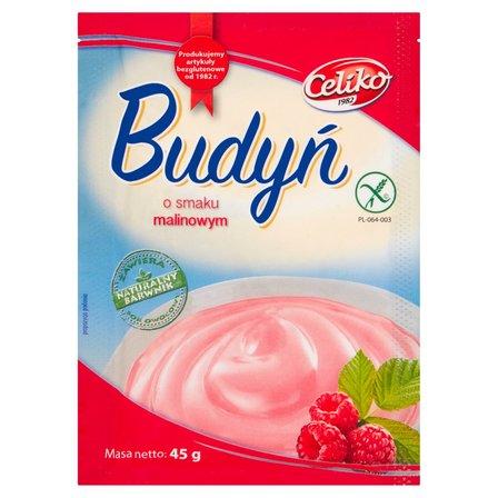 Celiko Budyń o smaku malinowym 45 g (2)