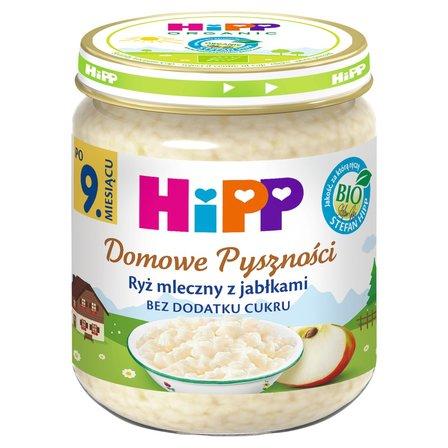 HiPP BIO Domowe Pyszności Ryż mleczny z jabłkami po 9. m-cu (1)