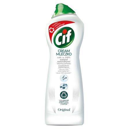 CIF Cream Original z mikrokryształkami Mleczko do czyszczenia powierzchni (1)