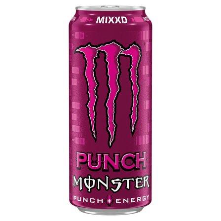 MONSTER Punch Mixxd Gazowany napój energetyczny (1)