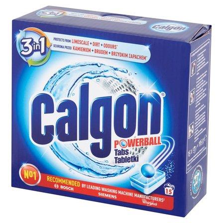 CALGON Tabletki do pralek przeciw osadzaniu się kamienia (15 szt.) (1)