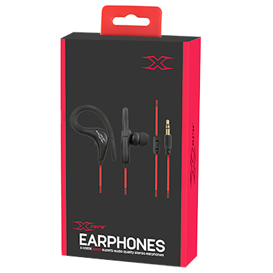 XZERO Sportowe słuchawki stereo X-H361K (2)