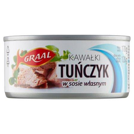 GRAAL Tuńczyk kawałki w sosie własnym (2)