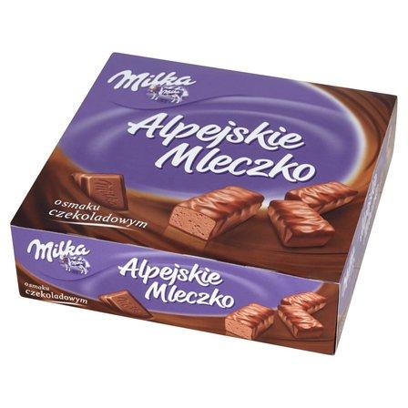 MILKA Alpejskie Mleczko Pianka o smaku czekoladowym (1)