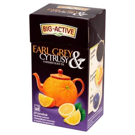 BIG-ACTIVE Earl Grey & Cytrusy Herbata czarna z cytrusami (20 tb.) (1)