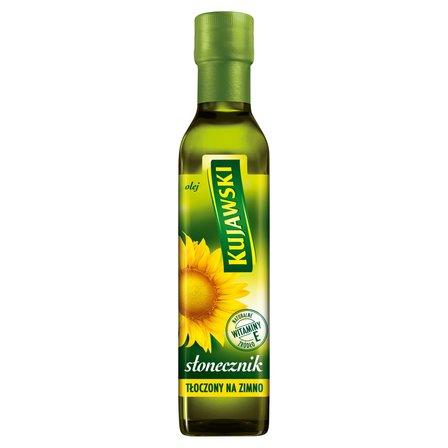 KUJAWSKI Olej ze słoneczników tłoczony na zimno (1)