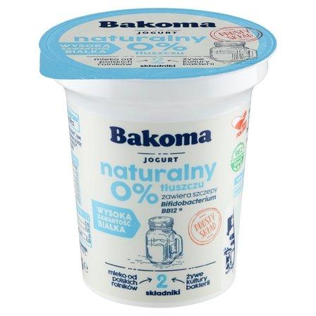 BAKOMA Jogurt naturalny 0% tłuszczu (1)