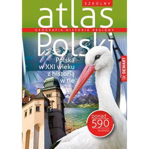 DEMART Szkolny atlas Polski (okładka miękka) (1)