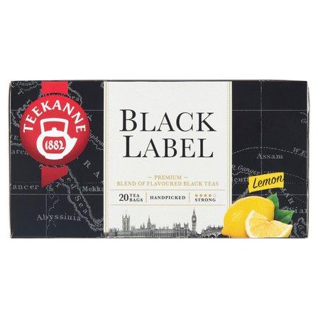 TEEKANNE  Black Label Lemon Mieszanka herbat czarnych (20 tb.) (2)