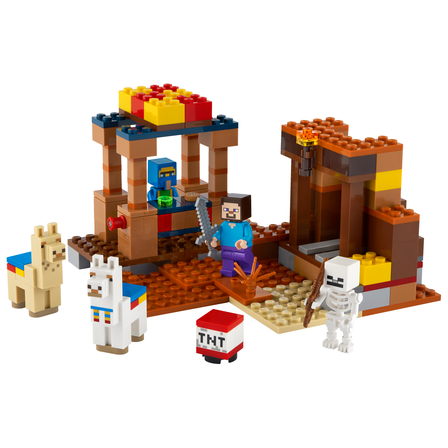 LEGO Minecraft Punkt handlowy 21167 (8+) (2)