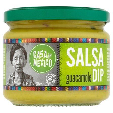 CASA DE MEXICO Salsa Guacamole Dip (3)
