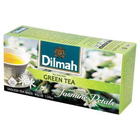 DILMAH Herbata zielona z kwiatami jaśminu (30 tb.) (1)