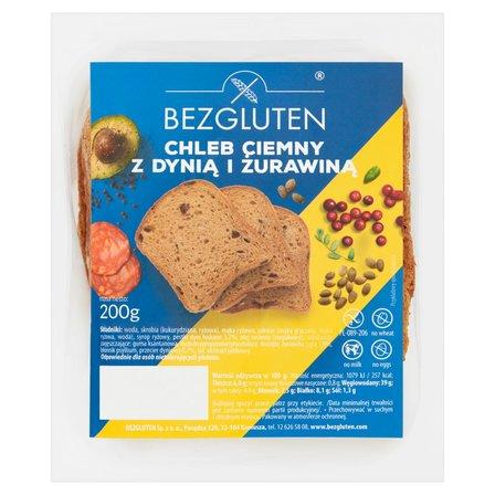 BEZGLUTEN Chleb ciemny z dynią i żurawiną (1)
