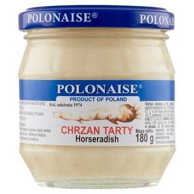 Polonaise Chrzan tarty 180 g (1)