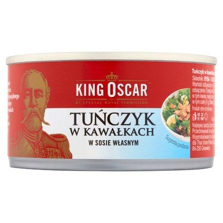 KING OSCAR Tuńczyk z kawałkach w sosie własnym (2)
