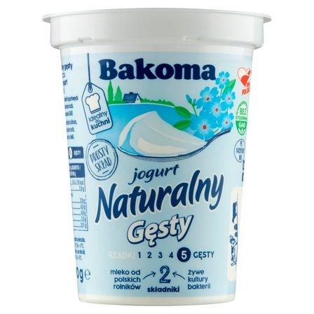 BAKOMA Jogurt naturalny gęsty (2)