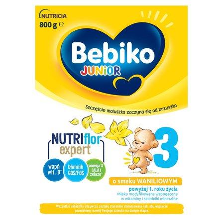 BEBIKO 3 Mleko modyfikowane dla dzieci powyżej 1. roku życia o smaku waniliowym (2 x 400 g) (2)