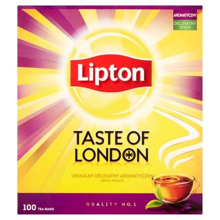 LIPTON Taste of London Herbata czarna aromatyzowana (100 tb.) (2)