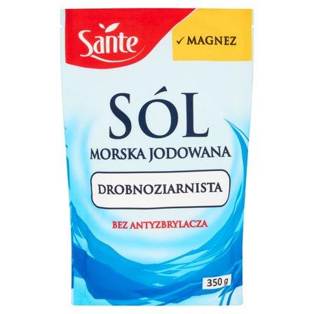 SANTE Sól morska jodowana drobnoziarnista (1)