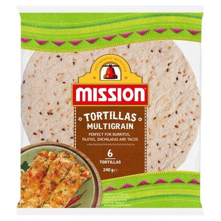MISSION Multigrain Tortille (6 sztuk) (1)