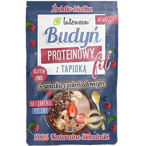INTENSON Budyń proteinowy z tapioką o smaku czekoladowym (1)