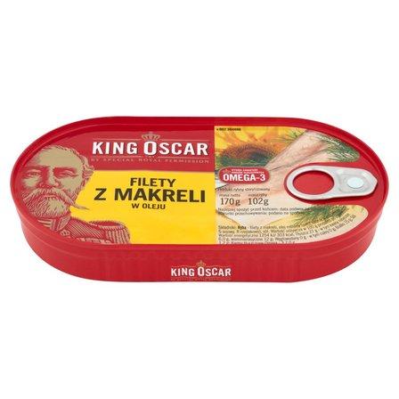 KING OSCAR Filety z makreli w oleju (1)