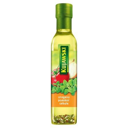 KUJAWSKI Olej rzepakowy z pierwszego tłoczenia z oregano pomidorami i cebulą (2)