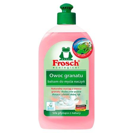 FROSCH ecological Owoc granatu balsam do mycia naczyń (1)