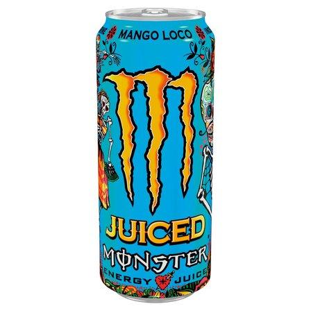 MONSTER Energy Mango Loco Gazowany napój energetyczny (1)
