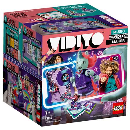 LEGO Vidiyo Unicorn DJ BeatBox 43106 (7+) (1)