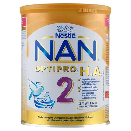 NAN Optipro H.A. 2 Mleko następne w proszku dla niemowląt powyżej 6. miesiąca (3)